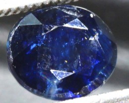 2.88CTS UNHEATED  AUSTRALIAN BLUE SAPPHIRE FACETED  PG-2253