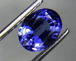 1.06 CT GIL CERTIFIED TANZANITE TOP COLOR HIGH QUALITY GEMSTONE S9