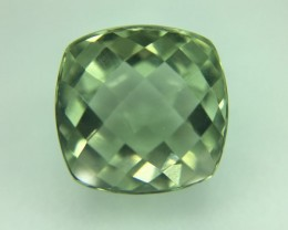 7.45 Ct Stunning Prasiolite  (Green Amethsyt ) Excellent Cut Gemstone A33