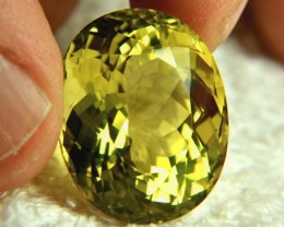 47.62 Carat Africn VVS1 Lemon Quartz - Gorgeous