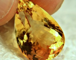 11.76 Carat Brazil VVS1 Golden Citrine - Lovely