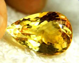 11.76 Carat Brazil VVS1 Golden Citrine - Lovely
