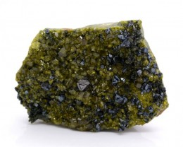 1025 Cts Natural Beautiful Specimen of Magnetite With Epidote @ Afghanistan