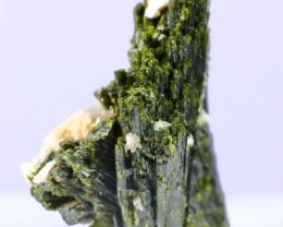 350 Ct Unheated ~ Natural  Superb Green Epidot Specimen