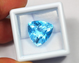 16.89Ct Natural Swiss Blue Color Topaz