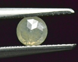 reserved 4.95mm white ivory rose cut diamond 0.53ct 4.95mm by 2.5mm ethical