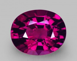 7.98 Cts Beautiful Perfect Ring Size Hot Purple Rhodolite Garnet