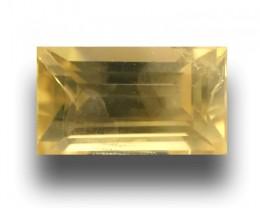 Natural Unheated Yellow Sapphire| Loose Gemstone| Sri Lanka - New