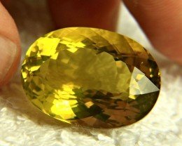 40.36 Carat VVS1 African Lemon Quartz - Gorgeous