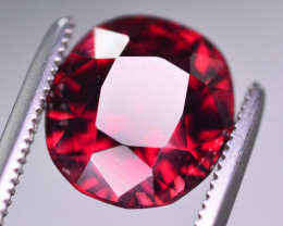 4 Ct Amazing Color Natural Rhodolite Garnet