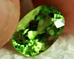 4.20 Carat VVS1 Himalayan Peridot - Superb