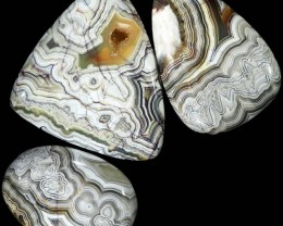 144.30 CTS TOP GRADE CRAZY AGATE POLISHED  STONE[MGW5210]