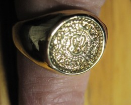 Brand New Solid 10k Gold ring size 8