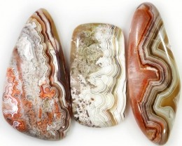 77.60 CTS TOP GRADE CRAZY AGATE POLISHED  STONE[MGW5246]3