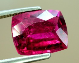3.20 cts Untreated Rubelite Gemstone