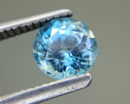 1.31 Ct Natural Zircon Awesome Color ~ Cambodia A36