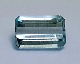 1.10CT AQUAMARINE SEA GREEN  BEST QUALITY GEMSTONE IGC39