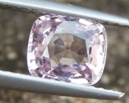 1.36ct Burma Pink Spinel, 100% Untreated,