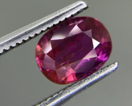 1.30 CT GIL CERTIFIED UNHEATED RUBY HIGH QUALITY GEMSTONE
