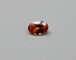 SPESSARTITE GARNET GEMSTONE OVAL