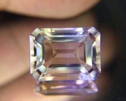 7 Ct Awesome Bolivian Ametrine Stunning Luster Faceted Cut Gemstone A38