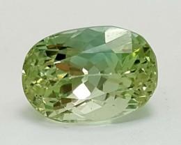 9.65 Crt Green Spodumene Natural High quality Gemstone   Jl120