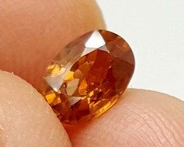 1.30 Crt Imperial Zircon Natural High quality Gemstone   Jl120