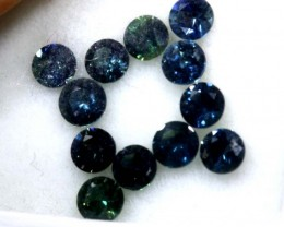 1.5 CTS AUSTRALIAN BLUE SAPPHIRE FACETED  PG-2262
