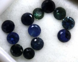 1.8 CTS AUSTRALIAN BLUE SAPPHIRE FACETED  PG-2264