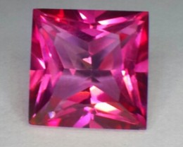 6.60 CTS DAZZLING NATURAL RARE 10.20 MM LUSTER HOT PINK TREATED TOPAZ