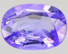 Purple Tanzanite 1.00 ct Unheated and Untreated Supreme Rare SKU-2
