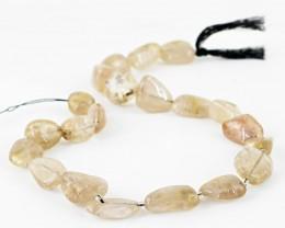 Rutile quartz Strand