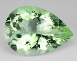 *FLAWLESS* 4.68 Cts Natural Unheated Green Beryl Pear Brazil