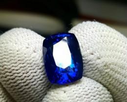 CERTIFIED 5.67 CTS NATURAL BEAUTIFUL ROYAL BLUE SAPPHIRE SRI LANKA