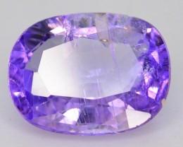 Purple Tanzanite 1.17 ct Unheated and Untreated Supreme Rare SKU-2