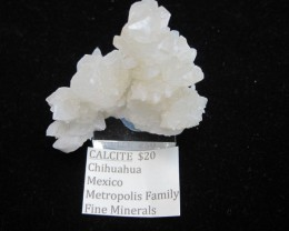 Nice Calcite display specimen Metropolis collection