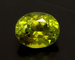 2.15 Crt Peridot Beautiful color from Pakistan Gemstone   Jl121