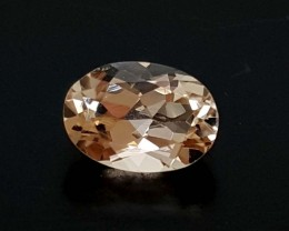 0.90 Crt Peach Morganite  High quality Gemstone   Jl121