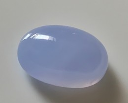 15.60CT LAVENDER BLUE CHALCEDONY GEM - AMAZING NO RESERVE AUCTION!