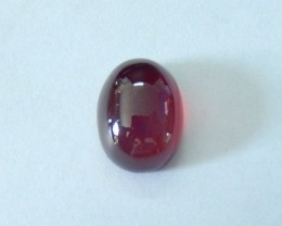 Sell 11.5 ct Natural Garnet Oval Cabochon, Semiprecious Gemstone Garnet,Fas