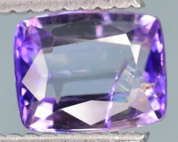 Purple Tanzanite 1.25 ct Unheated and Untreated Supreme Rare SKU-2