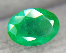 0.83Crt Natural Emerald Faceted Gemstone (R 54)