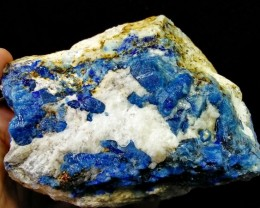 Natural - Unheated Rare 3480 C.T Hauyne aka Hauynite Specimen Electric Blue