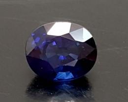 0.60 Crt Blue Sapphire Natural High quality Gemstone   Jl122