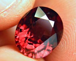 6.21 Carat Fiery VVS Rhodolite Garnet - Gorgeous