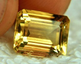 CERTIFIED - 4.66 Carat SI Golden Yellow Beryl - Superb