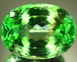 74.60 ct Huge Size Flowless Green Spodumene
