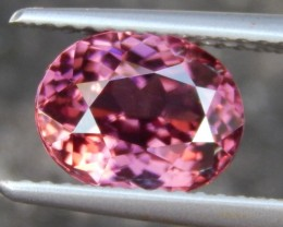 2.87cts,  Pink Zircon,  Natural Stone, Unheated, VVS1