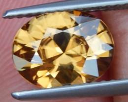 2.93cts, Yellow Zircon,  VVS1 Eye Clean,