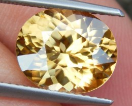 5.83cts,  Yellow Zircon,  VVS1 Eye Clean,